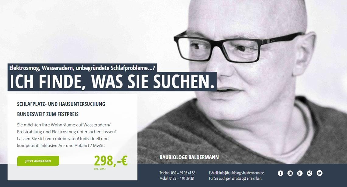 Baubiologie-Baldermann, Elektrosmog
