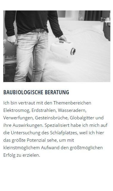 Baubiologische Beratung in Hattingen, Witten, Gevelsberg, Wuppertal, Essen, Schwelm, Wetter (Ruhr) und Sprockhövel, Bochum, Velbert