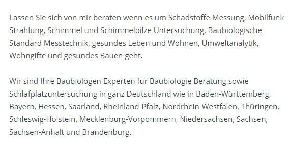 Schimmelpilze Untersuchung für 65183 Wiesbaden