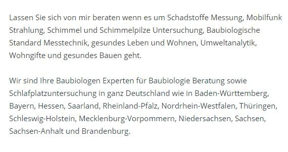 Schimmelpilze Untersuchung in 97204 Höchberg